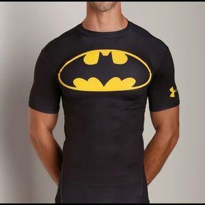 🔥 Under Armour compression Batman Shirt size Med